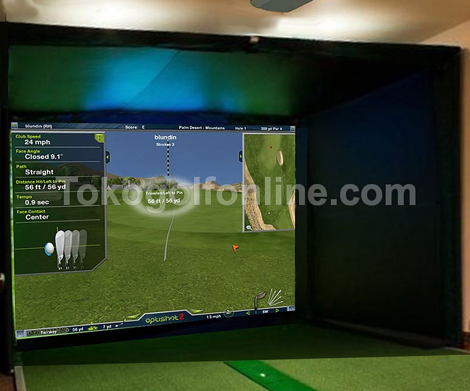 Golf Simulator Enclosure gen.2