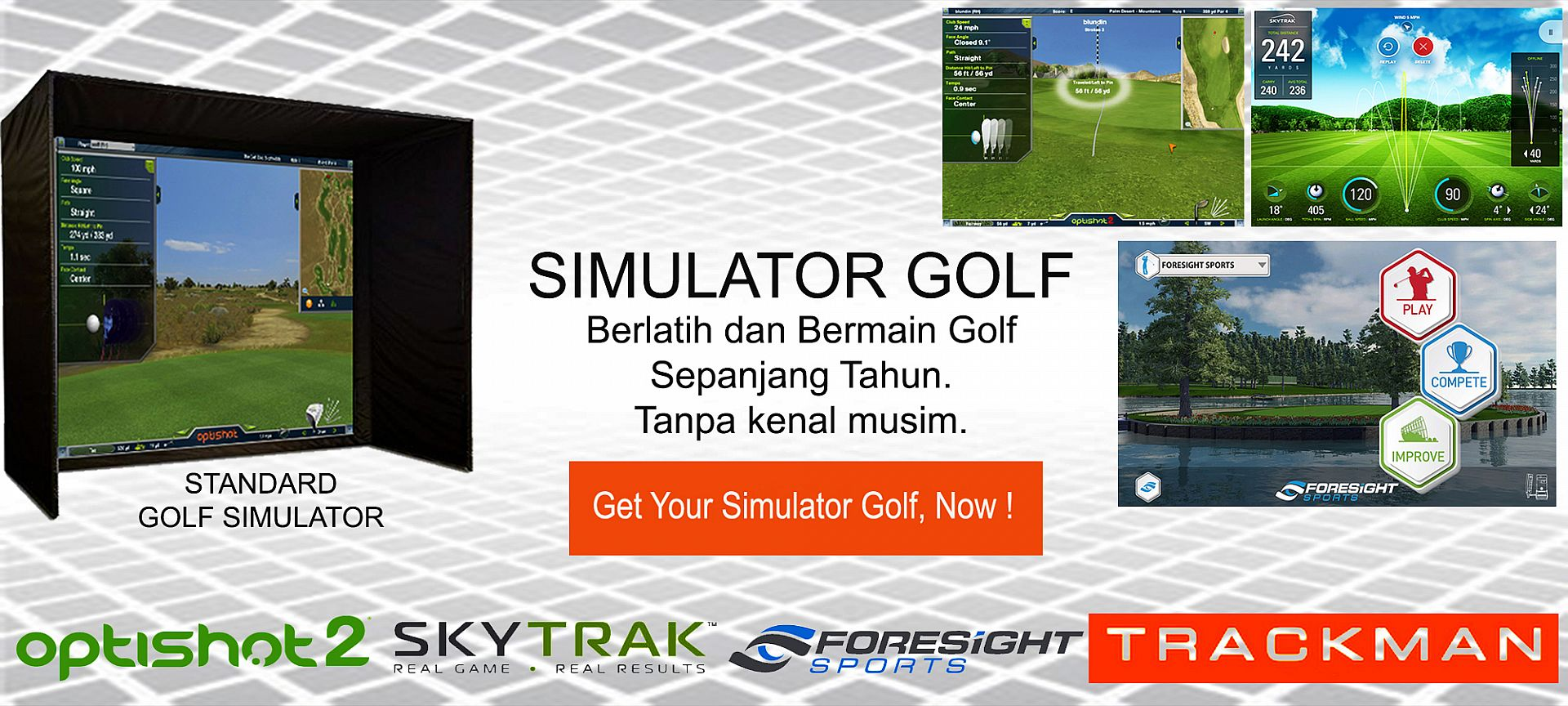 Banner Simulator Golf